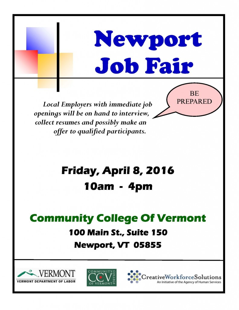 Newport Job Fair 2016_3_16